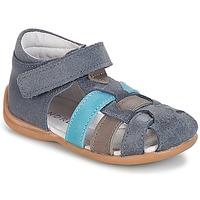 鞋子 男孩 凉鞋 André LES PRALINES 蓝色