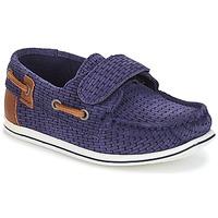 鞋子 男孩 船鞋 André LES CAILLOUX 海蓝色
