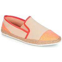 鞋子 女士 帆布便鞋 André DIXY 珊瑚色