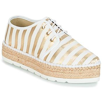 鞋子 女士 帆布便鞋 André ZEBRE 白色