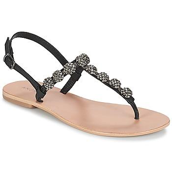 鞋子 女士 凉鞋 André LAHORI 黑色