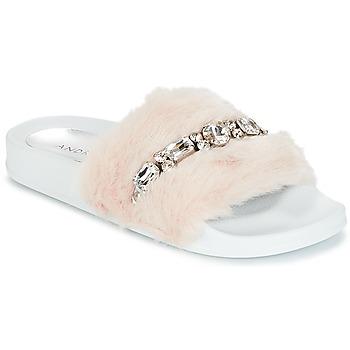 鞋子 女士 拖鞋 André DIADEME 白色