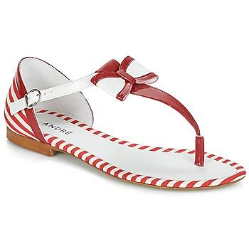 鞋子 女士 凉鞋 André DORINE 红色