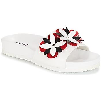 鞋子 女士 拖鞋 André GARDENIA 白色