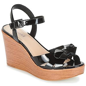 鞋子 女士 凉鞋 André DOME 黑色