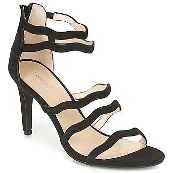 鞋子 女士 凉鞋 André POULOUPIDOU 黑色