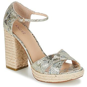 鞋子 女士 凉鞋 André TAPAGEUSE 米色