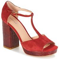 鞋子 女士 凉鞋 André TORRIDE 红色