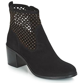 鞋子 女士 短靴 André TOTEM 黑色