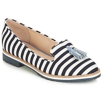 鞋子 女士 皮便鞋 André DINAN 白色