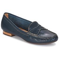 鞋子 女士 皮便鞋 André DORY 海蓝色