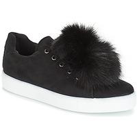 鞋子 女士 球鞋基本款 André POMPON 黑色
