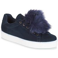 鞋子 女士 球鞋基本款 André POMPON 蓝色