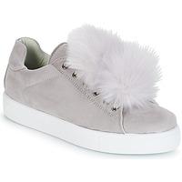鞋子 女士 球鞋基本款 André POMPON 灰色