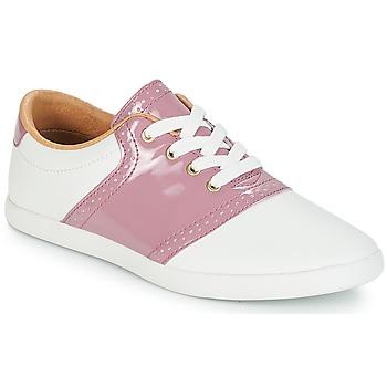 鞋子 女士 球鞋基本款 André LIZZIE 玫瑰色