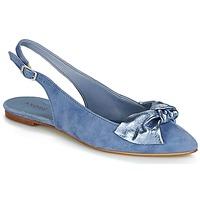 鞋子 女士 平底鞋 André LARABEL 牛仔