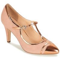 鞋子 女士 高跟鞋 André LORETTE 玫瑰色