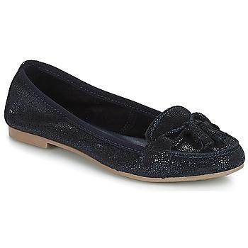 鞋子 女士 皮便鞋 André COQUETTE 海蓝色