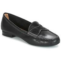 鞋子 女士 皮便鞋 André DORY 黑色
