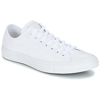 鞋子 球鞋基本款 Converse 匡威 ALL STAR CORE OX 白色