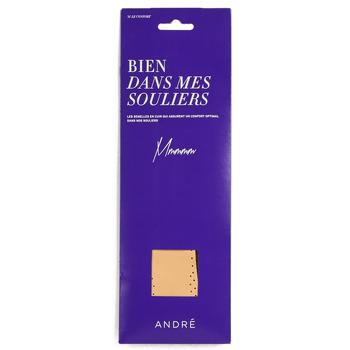 配件 鞋子配件 André SEMELLE CUIR 米色