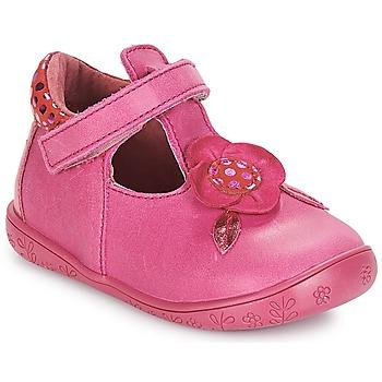 鞋子 女孩 平底鞋 André FLORE 紫红色