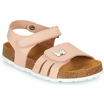 鞋子 女孩 凉鞋 André PAPILLON 玫瑰色