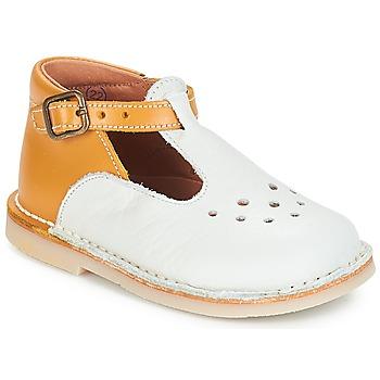 鞋子 女孩 平底鞋 André FALAISE 浅米色