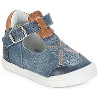 鞋子 女孩 平底鞋 André POCHOIR 蓝色