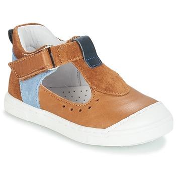 鞋子 女孩 平底鞋 André SARBACANE 驼色