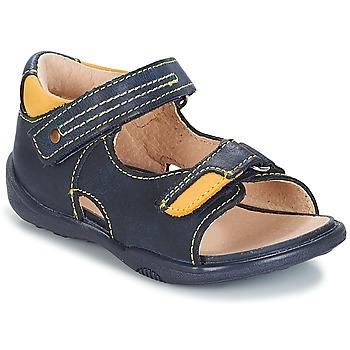鞋子 男孩 凉鞋 André VOYAGE 海蓝色