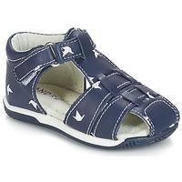 鞋子 男孩 凉鞋 André ORIGAMI 蓝色
