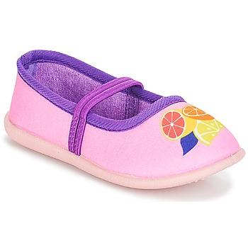 鞋子 女孩 平底鞋 André CITRONNADE 玫瑰色