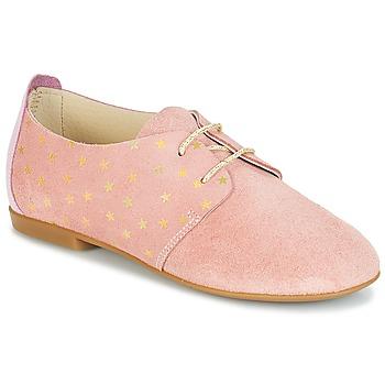 鞋子 女孩 德比 André CELESTINE 玫瑰色