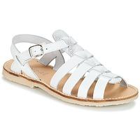 鞋子 女孩 凉鞋 André CANDIE 白色