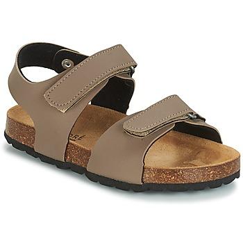 鞋子 女孩 凉鞋 André LES CRABES 灰褐色