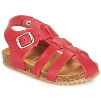 鞋子 男孩 凉鞋 André AVIRON 红色