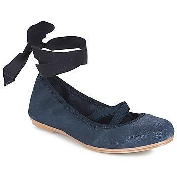 鞋子 女孩 平底鞋 André ELEANOR 海藍色