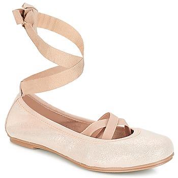 鞋子 女孩 平底鞋 André ELEANOR 玫瑰色