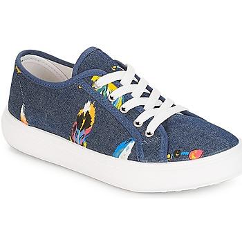 鞋子 女孩 球鞋基本款 André PLUMETTE 牛仔