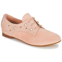鞋子 女孩 德比 André PERLA 玫瑰色