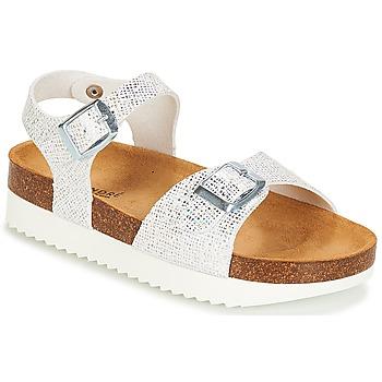 鞋子 女孩 凉鞋 André LAURE 银色