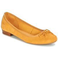 鞋子 女士 平底鞋 André CINDY 黄色