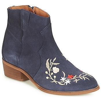 鞋子 女士 短筒靴 André WEST 海藍色