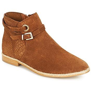鞋子 女士 短筒靴 André IDAHO 驼色