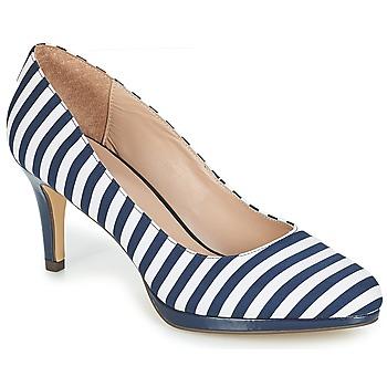 鞋子 女士 高跟鞋 André CRYSTAL Rayé / 蓝色