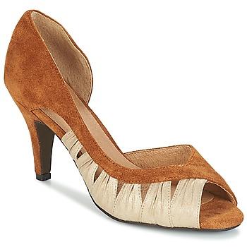 鞋子 女士 高跟鞋 André PUNGI 駝色