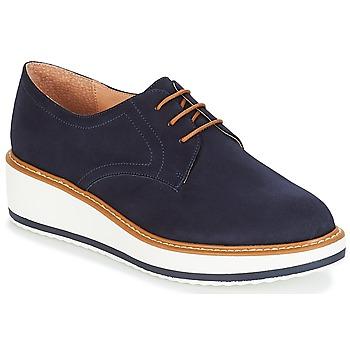 鞋子 女士 德比 André CHICAGO 海藍色
