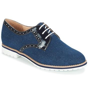 鞋子 女士 德比 André DERIVEUR 海藍色