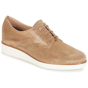 鞋子 女士 德比 André AMITIE 灰褐色